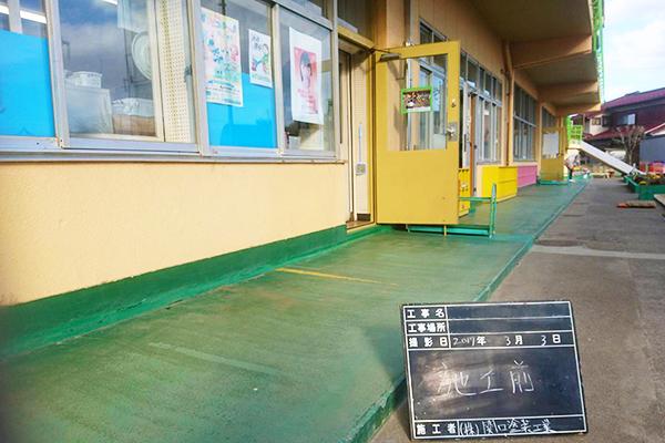 廊下塗装工事 M幼稚園 様